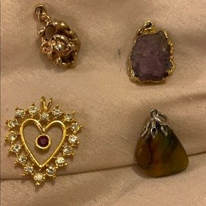 Vintage Lot of 4 Pendants